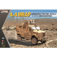 Gleagle1/35 U.S. 4x4 MRAP Full Terrain Combat Armored Vehicle Unassemble Model K61011