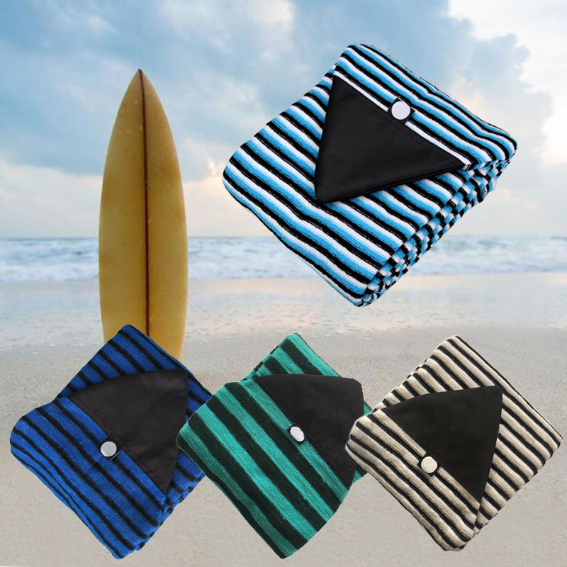 Surfboard Socks Qick-dry Cover Surf Board Protective Storage Cover Case Stripe  6.0''/6.3''/6.6''/7'' Surfing Accessories