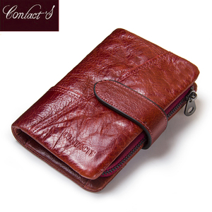 Image 3 - HOT!!! Genuine Leather Women Wallet Female Small Card Holder Money Bag Lady Perse For Girls Coin Purse Portomonee Rfid Walet