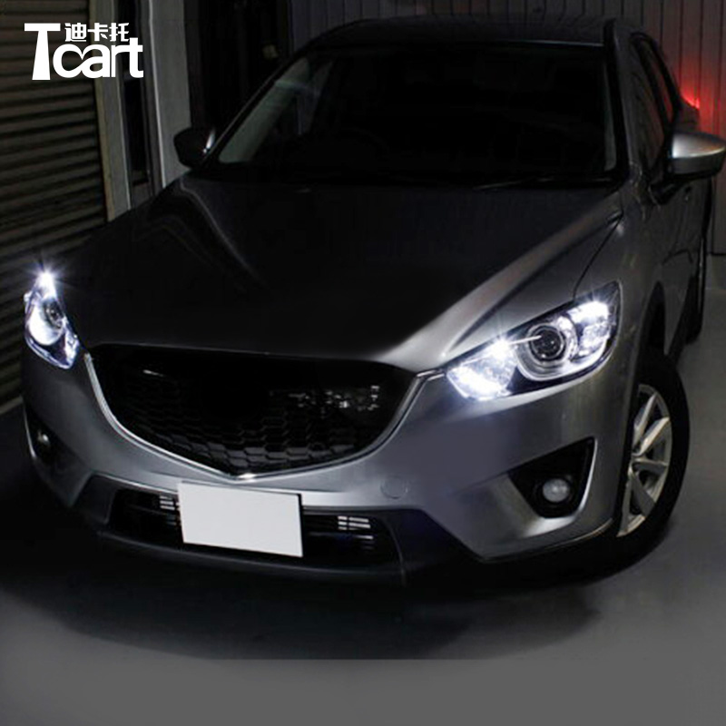 Tcart For <font><b>Mazda</b></font> <font><b>cx</b></font>-<font><b>5</b></font> 2013 2014 2015 2016 car styling Auto <font><b>Led</b></font> Clearance Lights Car T10 Wedge Width <font><b>Lamps</b></font> car accessories image