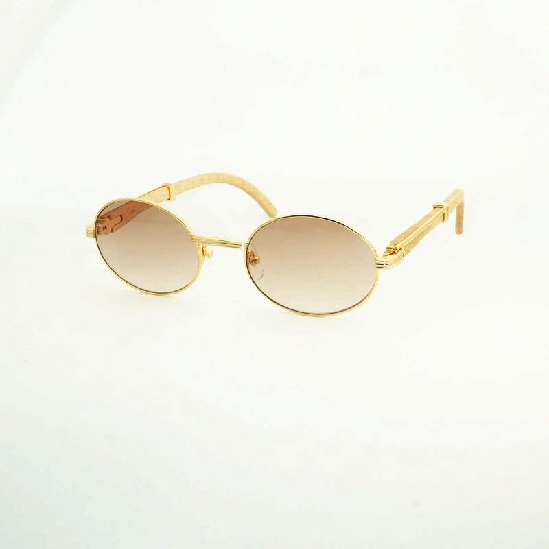 luxury sunglasses Men oval carter glasses frame mens sunglasses brand designer 2018 round high quality fashion shades for women