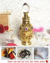 ФОТО egyptian palace retro perfume bottle gemstone oil bottle