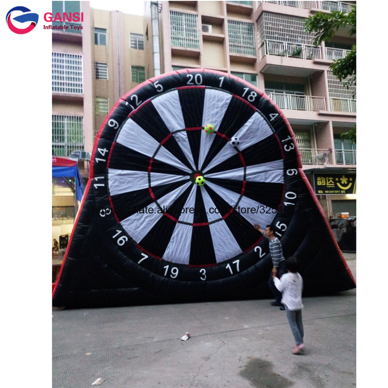 Free balls inflatable soccer darts for sale large football darts game equipment lows price inflatable dart game for amusement free shipping ce certificated inflatable football pitch inflatable soccer court soapy stadium for sale