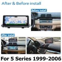 hd מסך אנדרואיד 8.0 עד DVD לרכב Navi Player עבור BMW 5 Series M5 X5 1999 ~ 2006 מסך אודיו סטריאו HD Touch הכל באחד (3)