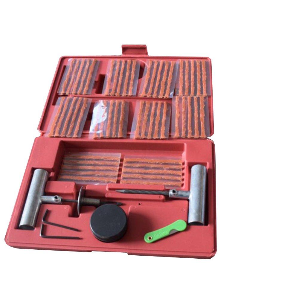 57pcs Wheel Tire Repair Kit DIY Flat Tire Repair Tool For Car Truck Motorcycle Home Plug Patch Garage Tools