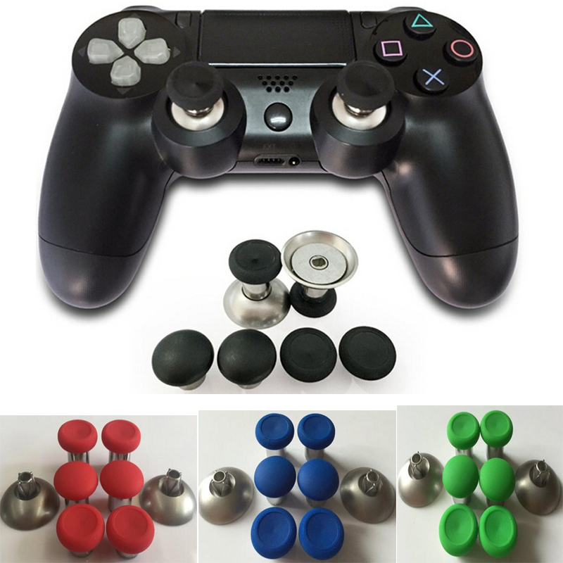 US $11 69 10% OFF|Enhanced Swap Thumbstick Joystick Thumb Stick Grips Caps  For XBOX One elite Controller For PS4 Playstation 4 Nintend Switch Pro-in