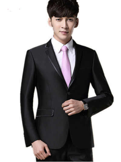 Morning Suit Wedding Dress Chinese Style Men Stage Costumes For Singers 2015 New Design Smoking Man Gowns Fitted Clothing