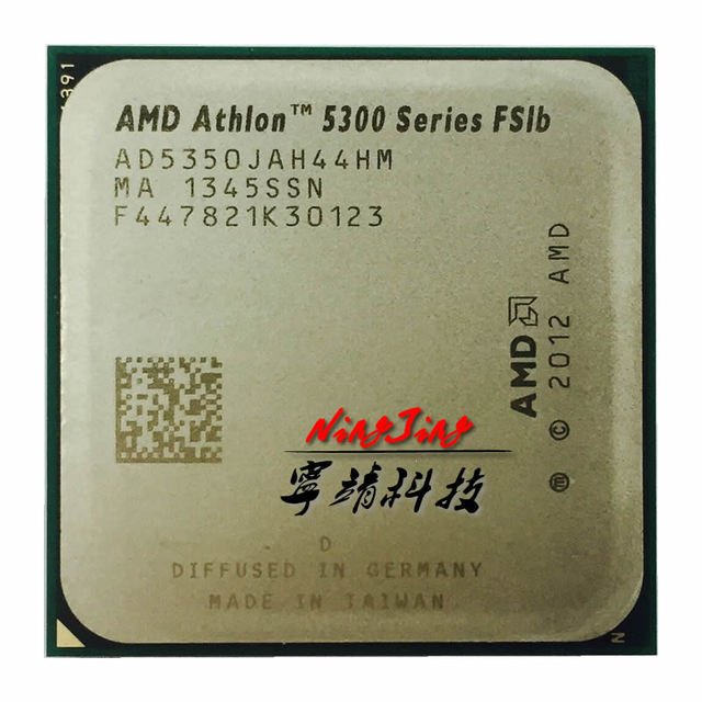 AMD Athlon 5350X4 5350 2.05 GHz Quad Core CPU Processor AD5350JAH44HM Socket AM1