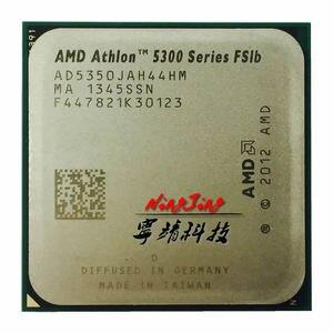 Image 1 - のamd athlon 5350 × 4 5350 2.05 ghzクアッドコアcpuプロセッサAD5350JAH44HMソケットam1