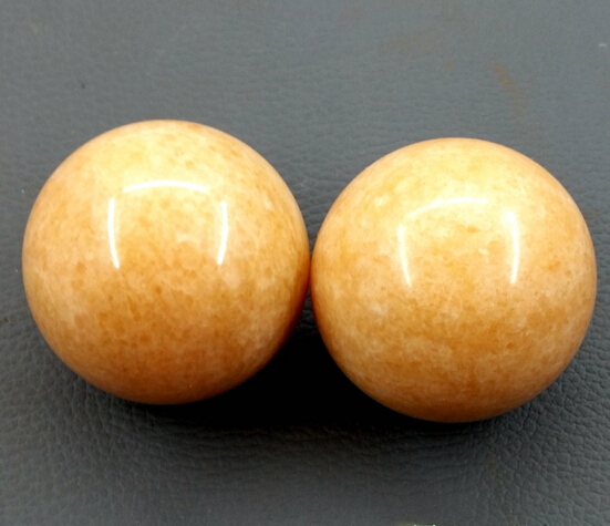 Natural Stone Massage Ball 50mm Exercise Meditation Stress Rs