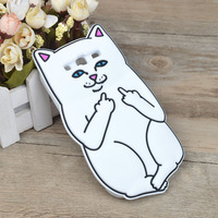 Soft Silicone Gel Case For Samsung Galaxy S3 SIII Cat Cartoon Painting Cover For Samsung Galaxy