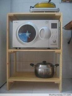 Merveilleux Guaranteed 100% Solid Wood Microwave Oven Rack, Wood Kitchen Furniture,  Bookshelf,wooden Furture,wood Stand