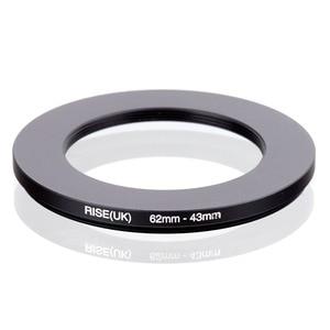 Image 1 - עלייה (בריטניה) 62mm 43mm 62 43mm 62 כדי 43 צעד למטה טבעת מסנן מתאם שחור