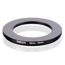 RISE (UK) 62mm 43mm 62 43mm 62 om 43 Step down Ring Filter Adapter black