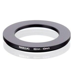 Image 1 - RISE (UK) 62mm 43mm 62 43mm 62 om 43 Step down Ring Filter Adapter black