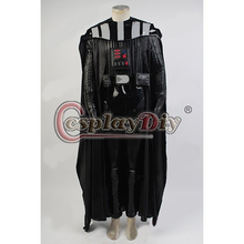 Cosplaydiy Custom Made Star Wars Darth Vader Costume Suit Adult Men Movie Costume For Halloween Party Cosplay Costume