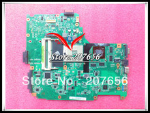 Laptop Motherboard For ASUS N61JQ N61JA REV 2.1 / REV 2.0 systerm board , Support I7 CPU