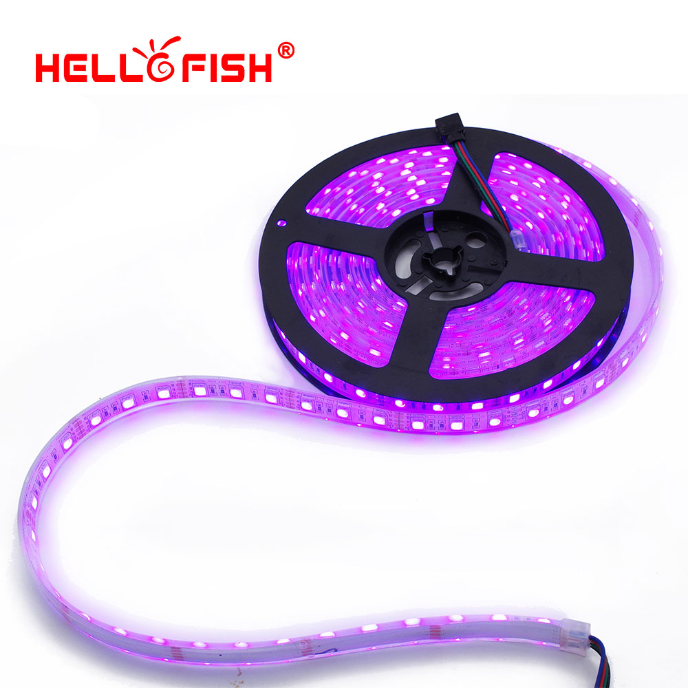 IP67 Waterproof 5M 300 LED 5050 LED strip 12V LED flexible strip light, Silicone waterproof cannula, work in the water