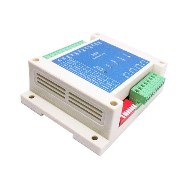 2 uds. Módulo de relé SK108 3Km 4 canales relé 433mhz inalámbrico rf interruptor de control remoto para riego agrícola