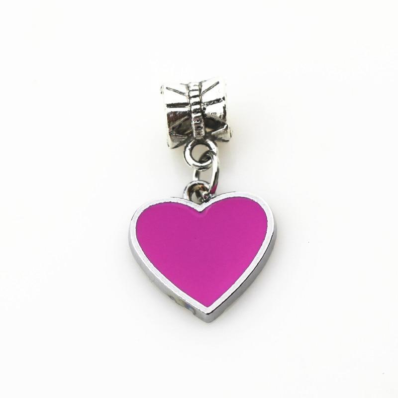 Hanging Heart Dangle Charm
