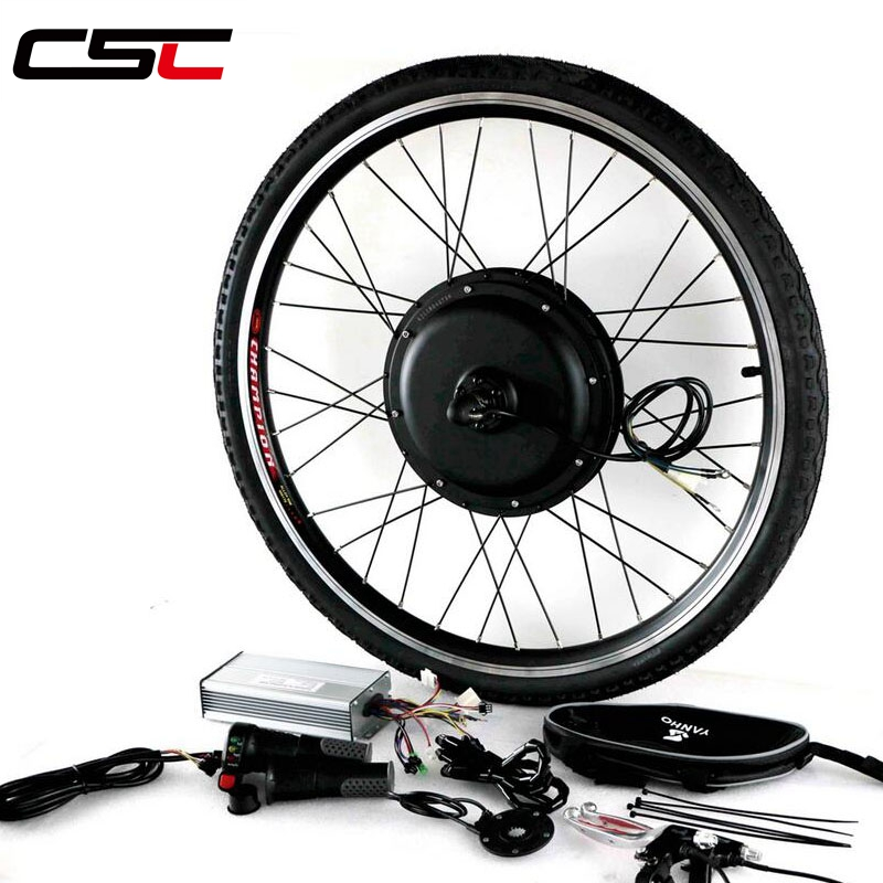 цена на Ebike Bicycle Kit 36V 250W 350W 500W 48V 500W 1000W 1500W 20-29 700C LCD Electric Bike Rear Motor Wheel Conversion Kit