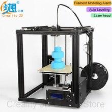 Автоматическое выравнивание creality 3D core-XY 3D-принтеры v-слот Рамки Ender-4 лазерной 3D-принтеры комплект нити мониторинга сигнализации potection лазерный