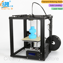 Auto Leveling CREALITY 3D Core-XY 3D Printer V-Slot Frame Ender-4 Laser 3D Printer Kit Filament Monitoring Alarm Potection Laser