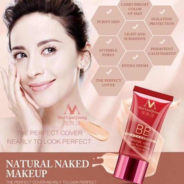 MeiYanQiong Frais Et Humide Revitalisation BB Crème Maquillage Soins Du Visage Blanchiment Compact Fondation Correcteur Empêchent Se Dorent Soins de La Peau 1