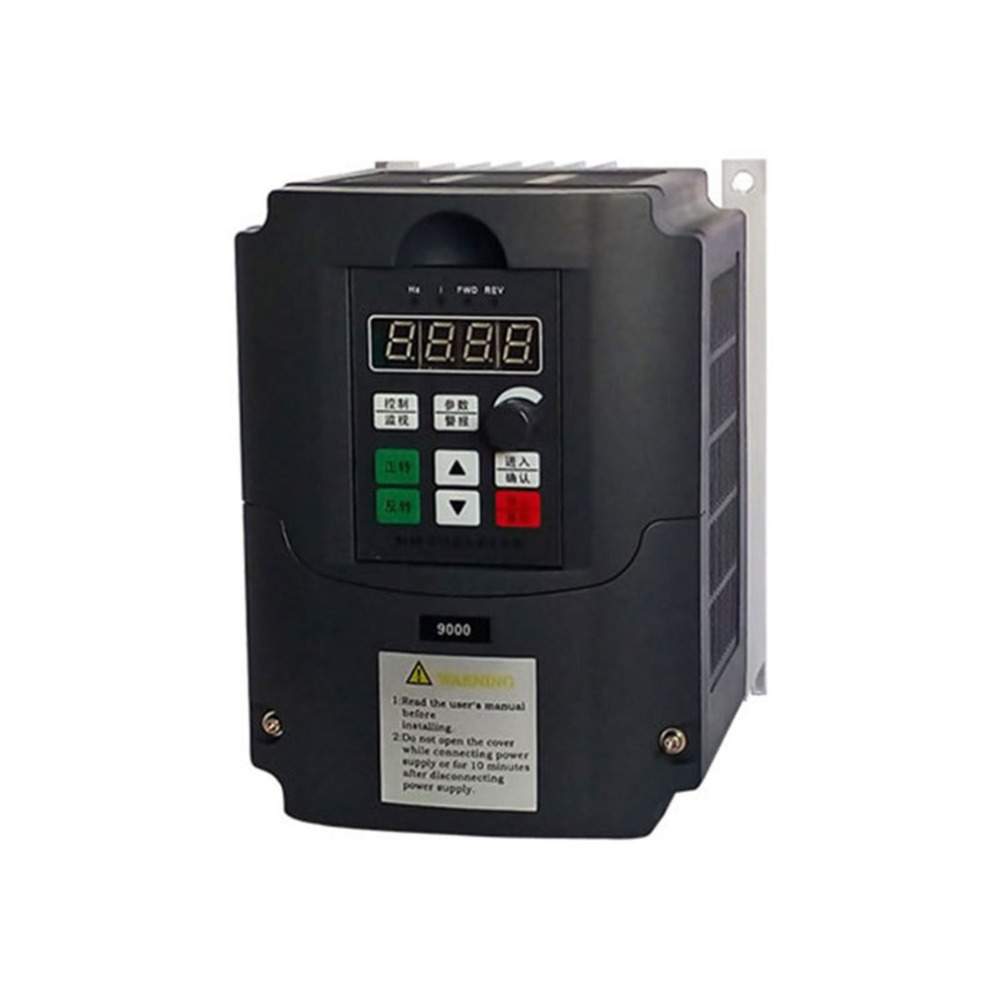 Portable 0.75kw/1.5kw/2.2kw-G 220V Single Phase Frequency Converter 220V 3 Phases Output Frequency Inverter Built-in User Timer кальсоны user кальсоны