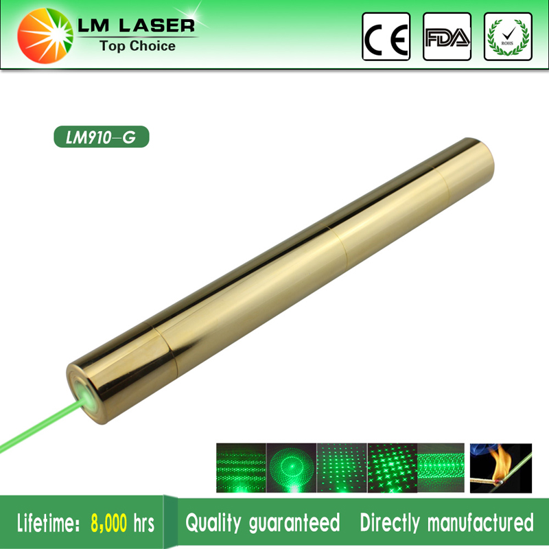 520nm 10 Mile 1000mw Green Laser Pointer Laserpen High Powered Burning Laser Pointer Flashlight for Sale with Charger+2 18650