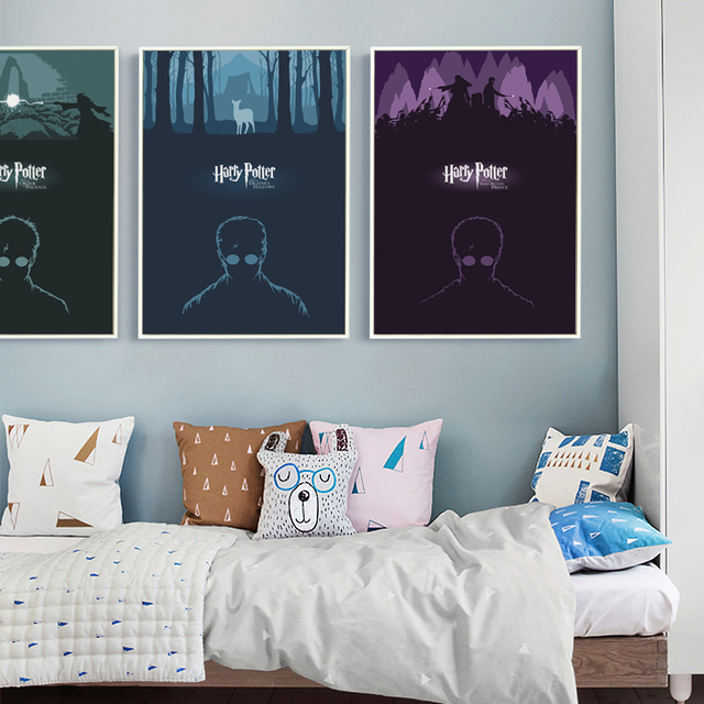 Harry Potter 7 Canvas Art Painting Print Poster Picture Wall Child Room Home Decoration Murals