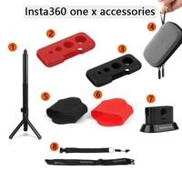 Insta360 ONE X Selfie Stick+Hand Grip/Stand Base Stabilizer/Neck Strap/Mini Storage Bag for Insta360 One X Accessories