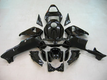 Motorfiets Licht Zwart Kuip Kit Voor HONDA CBR600RR CBR 600RR CBR600 RR 2003-2004 ABS Plastic   3 Gift