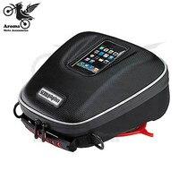 Motorcycle Rear Tail Bags Seat Package Motorbike Racing Back Seat Bags Waterproof Motorcycle Luggage Bag Sport Luggage Bag