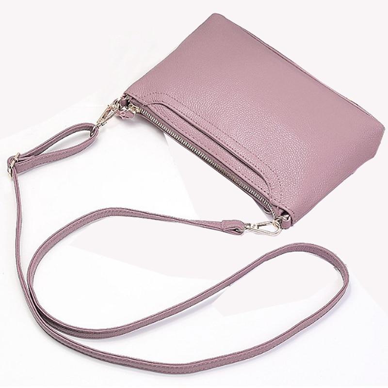 sampel beg kulit tulen wanita kecil beg tangan kulit dompet merah wanita messenger bags 2018 mewah fesyen wanita pink flap bag