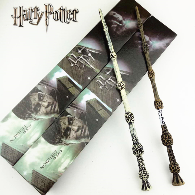 2style Cosplay Albus Dumbledore Play Magical Magic Wand Gift In Box Metal Core Harry Potter Magical Wand harri potter magic wands set hermione granger lord hermi neville wand metal potter narvissa dumbledore quidditch time turner toy