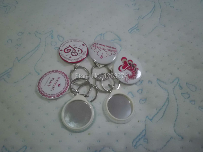 Personalised Wedding Gifts For Guests: Free Shipping!100pcs/lot! Personalized Keychain With Mini