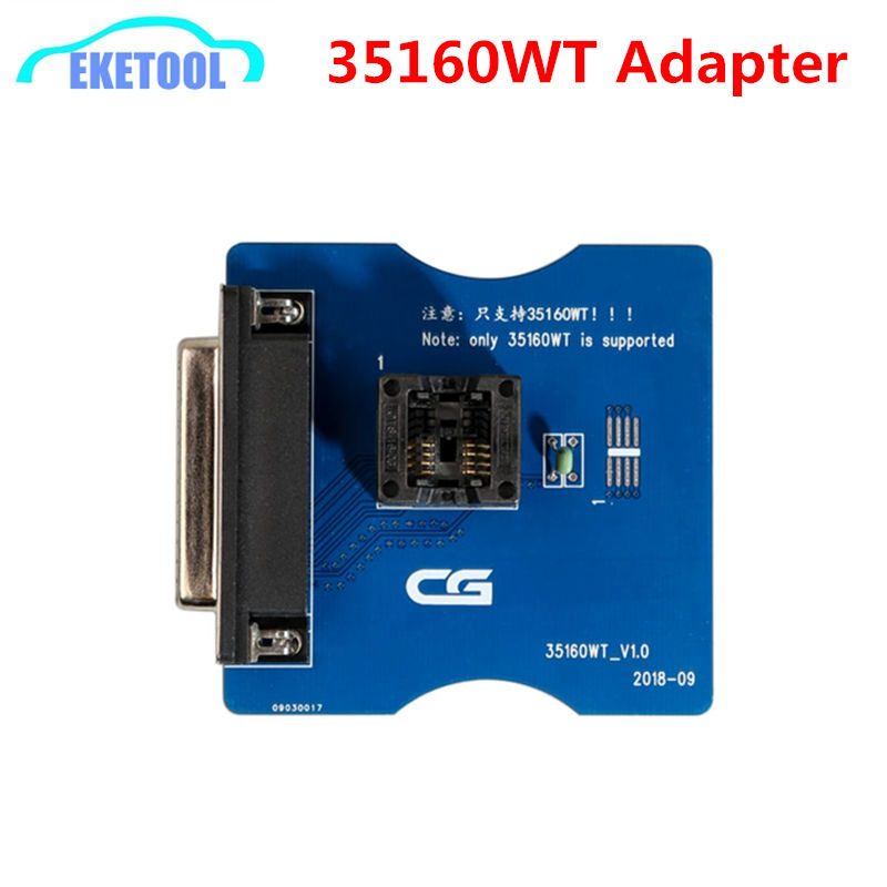 35160WT Adapter for CG Pro 9S12 Programmer For Repair Vehicle Red Dot