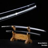 Para o filme matar bill o ren ishii handforge japonês espírito samurai katana ninja espada 1045 aço carbono nova marca|Espadas| |  -