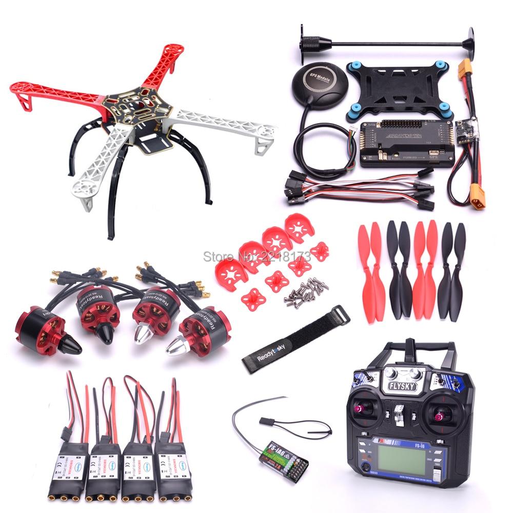 F450 450 Quadcotper Frame Kit APM2 6 Flight controller board M8N GPS Power Module 2212 920kv