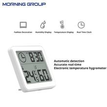 3.2 дюйма большой Экран многофункциональный автоматический электронный Температура и влажности, часы