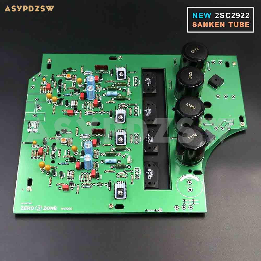 NEW 2SC2922 Stereo NAP200 Power amplifier base on UK NAIM Black Box Power amp finished