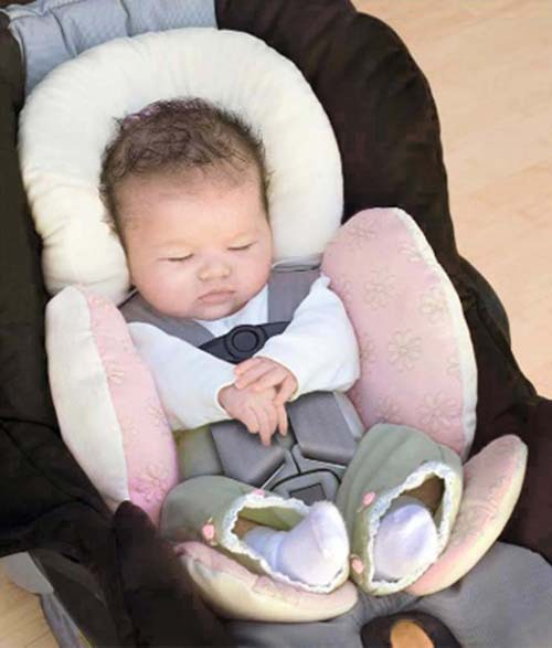 New Baby Car Seat Joggers Strollers Reversible Body Infant Snuggler NEW Pink Color H1115Y1