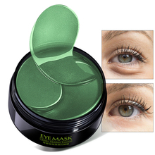 60pcs/bottle Collagen Gel Eye Patches Eye Mask Skin Care Face Sleep Mask Remover Dark Circles Anti Aging Puffiness Eye Pad Bag