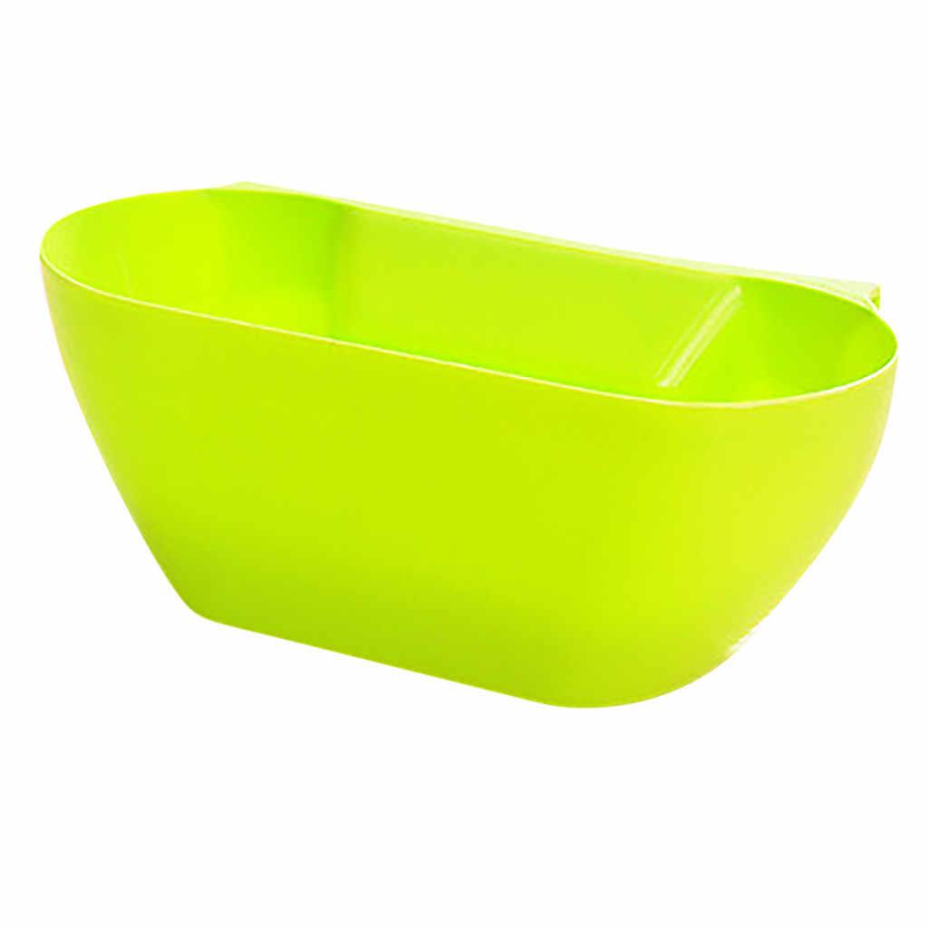 Conveniente e Prático Excelente Qualidade Porta de Armário de Cozinha Pendurado Lixo Lata De Lixo Pode Rubbish Container Transporte da gota