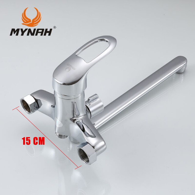 Online Shop MYNAH Russia free shipping Bathroom faucet shower ...