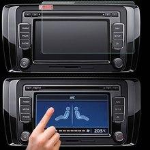 Универсальное закаленное Стекло экранный протектор для 7 дюймов планшет автомобильный DVD gps можно крепить любые приспособления: PDA MP4 видео с уровнем твердости 9H закаленное Стекло Размер