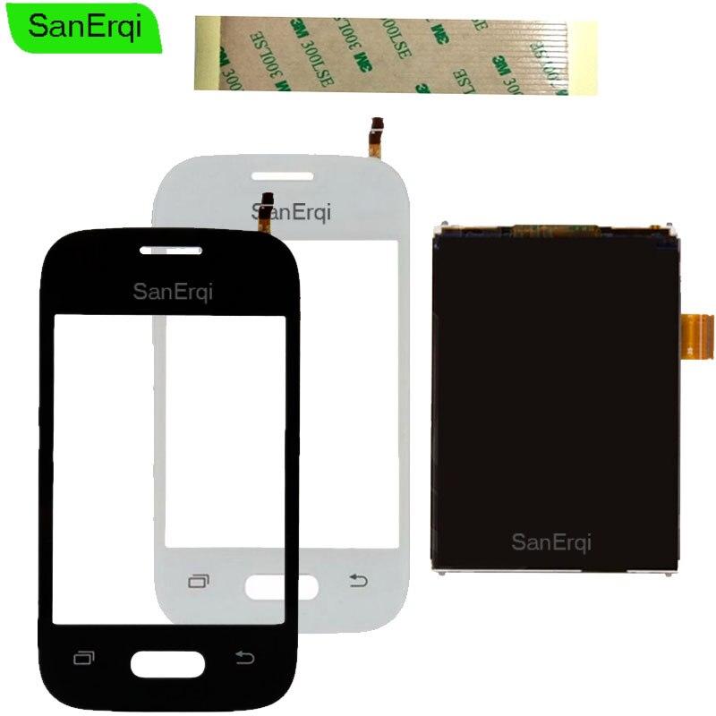 SanErqi 3.2inch For Samsung Galaxy DUOS Pocket 2 SM-G110H G110B G110 Touch Screen Digitizer Sensor Glass + LCD Display Panel