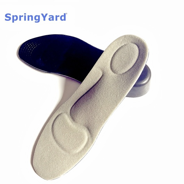 (2 Size) 3.5 cm PU Woman/Man Arch Support Height Increase Insole Shock Absorption Cushion Heel Heighten Shoe Pad Sole