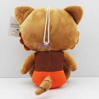 "10pcs/lot Guardians Galaxy Tree People & Rocket Raccoon Stuffed Animal Plush Dolls Soft Toys 8\""20cm Whoelsale"
